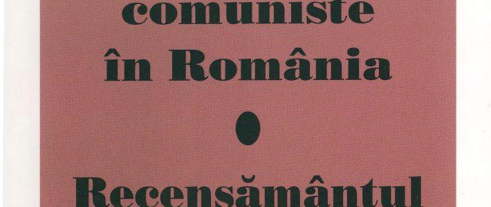 Cronologia și geografia represiunii comuniste în România. Recensământul populației concentraționare (1945-1989)